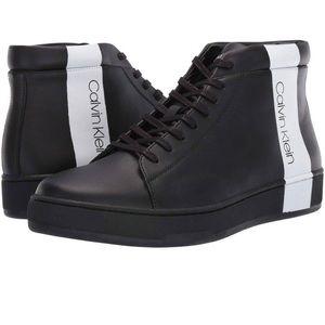 Calvin Klein Nilo Men's Lace up Black Boots